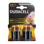 Duracell MN1500 AA Alkaline Batteries (4 Pcs)