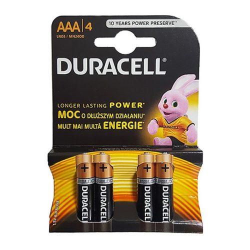 Duracell MN2400 AAA Alkaline Batteries (4 Pcs)