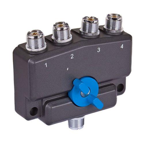 Watson CX-SW4PL 4-Way SO239 Coax Switch