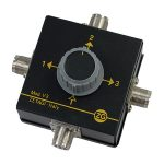 Zetagi V3 3-Way Antenna Switch 2 kW Max