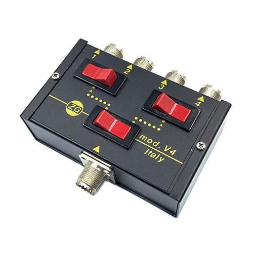 Zetagi V4 4 Position Antenna Switch