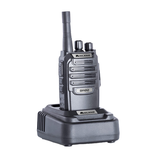 Midland BR-02 PMR446 / Business Radio Transceiver Inc Charger