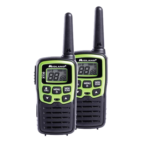 Midland XT30 PMR446 Twin Pack Transceivers