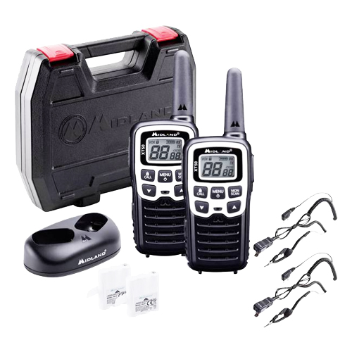 Midland XT50 Adventure Edition PMR446 Twin Pack Transceivers