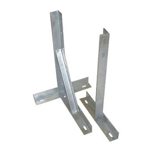 TK-12 – 12″ Galvanised T and K Wall Bracket (with Bolts)