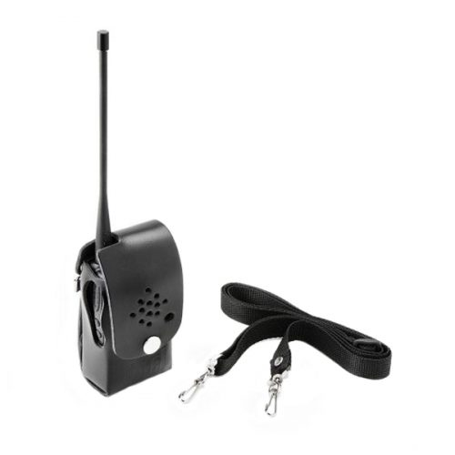 Entel CLC452 Heavy Duty Leather Case & Strap with Belt Loop for Non-Display Radios