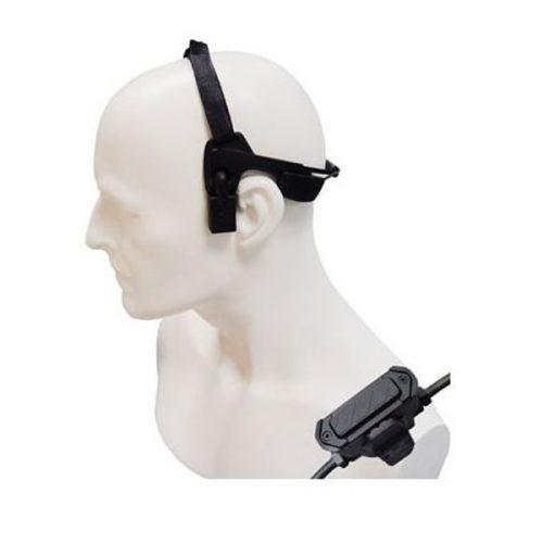 Entel CXE19/DX Bone Conductive Headset with In-Line PTT