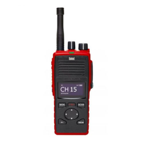 Entel DT944FF ATEX VHF Fire Fighter Portable Radio