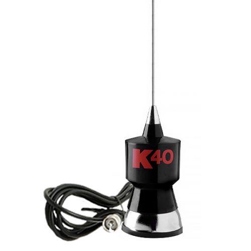 K40 Black Classic Mobile CB Antenna